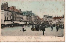 Calais- Place D'Armes-publicité Véritable Elixir ISABELLE - Calais