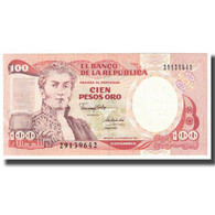 Billet, Colombie, 100 Pesos Oro, 1991, 1991-01-01, KM:426A, NEUF - Colombia