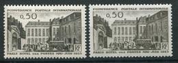 21497 FRANCE N°1387c**(Cérés) 50c. Hôtel Des Postes : Papier épais + Normal (non Fourni)  1963  TB - Varieteiten: 1960-69 Postfris