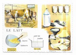 Le Lait Les Aliments Leçons De Choses Collection éditée Par Comptoir De Famille Copyright Rossignol - Sin Clasificación