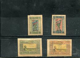 Azerbaïdjan 1919 Yt 18 19 20 21 * - Aserbaidschan
