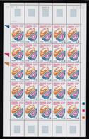 TAAF - Feuille Entière De 25 Timbres Neufs** - N° 384 - Daté Du 18/09/2003 - Qualité Poste - Zonder Classificatie