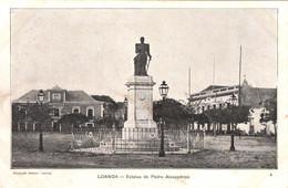 ANGOLA - LOANDA - LUANDA - Estatua De Pedro Alexandrino - Angola