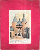NANCY  -  54 -  CPA DOS SIMPLE COLORISEE  De 1902 - La Porte De La Graffe - - OGE1 - - Nancy