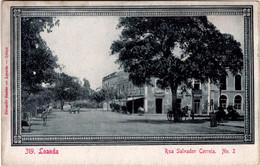 ANGOLA - LUANDA  - LOANDA - Rua Salvador Correia - Angola