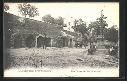 CPA Chateaugay, Les Caves - Non Classificati