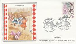 MONACO FDC 1989 EUROPA - JEUX D'ENFANTS - FDC