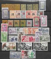 Madagascar Belle Petite Collection De Bonnes Valeurs Anciennes Neufs */oblitérés 1896/1950. B/TB. A Saisir! - Unused Stamps