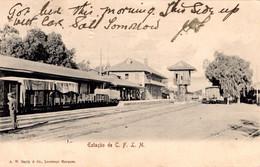 MOÇAMBIQUE - LOURENÇO MARQUES - Estação Do Caminho De Ferro - Mozambique