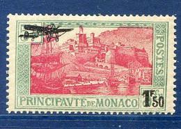 TIMBRES MONACO REF05LI Timbre Poste Aérienne N°1 LUXE ** - Airmail