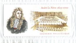 Bloc Souvenir  Neuf ** André Le Nôtre  1613 - 1700   4751  4752   BS 80 - Souvenir Blocks