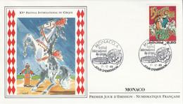 MONACO FDC 1989 FESTIVAL DU CIRQUE - FDC