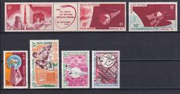 WALLIS ET FUTUNA - ANNEE COMPLETE 1966 - POSTE AERIENNE YVERT N°24/30 ** MNH - COTE = 37 EUR - Full Years