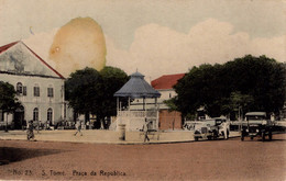 SÃO TOME - Praça Da Republica - Sao Tome And Principe