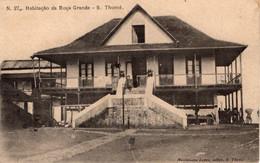 SÃO TOMÉ - Habitação Da Roça Grande - Sao Tome And Principe