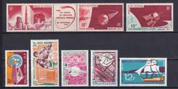 WALLIS ET FUTUNA - ANNEES COMPLETES 1966 + 1967 - POSTE AERIENNE YVERT N°24/31 ** MNH - COTE = 45.6 EUR - Full Years