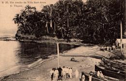 SÃO TOMÉ - Um Trecho Da Villa De Sant-Anna - Sao Tome And Principe
