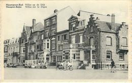 NIEUWPOORT-BAD : Villas Op De Dijk - NIEUPORT-BAINS : Villas Sur La Digue - Variante Peu Courante - Nieuwpoort