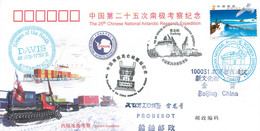 "China 2009 CN000 25. China National Antarctic Expedition Station ""Davis"". International Polar Year - Brieven En Documenten"