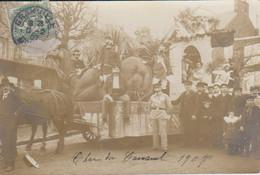 Granville 50 Manche Carnaval 1907 Le Dromadaire    Beau Plan Attelage Déguisés - Granville