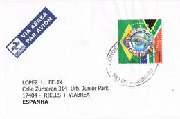 40305. Carta Aerea RIO De JANEIRO (Brasil) 2010. FUTBOL, Football To Spain - Cartas