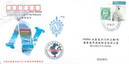 China 2007 CN015 China National Arctic Expedition. Ny-Ålesund. Svalbard Archipelago - Brieven En Documenten