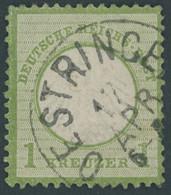 BADEN DR 7 O, OESTRINGEN, K1, Auf 6 Kr. Schwarz Auf Gelb, Rückseitige Mängel - Baden