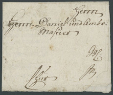 BAYERN 1750, Fuhrmannsbrief Aus LINDAU, Feinst - [1] Prephilately