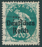 BAYERN Pf 23 O, 1920, 60 Pf. Dunkelblaugrün, Gelocht B, Feinst (kleine Helle Stelle), Gepr. Dr. Helbig Und Infla, Mi. 35 - Bavaria