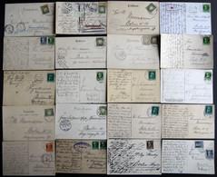 BAYERN 1889-1920, 20 Verschiedene Gebrauchte Ansichtskarten, Meist Pracht - Bavaria