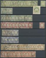 BAYERN O,* , 1876-1911, Reichhaltige Lagerpartie Neue Währung, Feinst/Pracht, Fundgrube Für Den Spezialisten!, Mi. über  - Bavaria