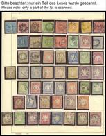 BAYERN O,* , 1849-1920, Alter Reichhaltiger Sammlungsteil Mit Einigen Guten Werten, Unterschiedliche Erhaltung, Besichti - Bavaria