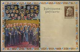 BAYERN PP 22C4/02 BRIEF, Privatpost: 1913, 3 Pf. Luitpold 100 Jahrfeier Der Deutschen Befreiungskämpfe, Ungebraucht, Kle - Bavaria