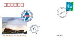 China 2005 CN005 China National Arctic Expedition. Ny-Ålesund. Svalbard Archipelago - Brieven En Documenten