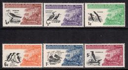 Carn Iar 1961 P# 1-6 ** MNH - Sea Birds And St. Columba's Landing On Iona - Local Issues