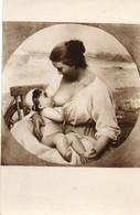 Femme Allaitant Son Enfant......salon De Paris....  La Conversation - Paintings