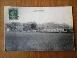 46 - CHAPOU - Le Lot Illustré, Vue Générale ,carte Très Rare écrite En 1911 De Tauriac Par Puybrun - Other Municipalities