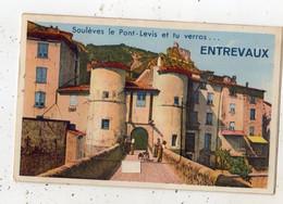 SOULEVES LE PONT-LEVIS ET TU VERRAS ENTREVAUX (CARTE A SYSTEME) - Sonstige Gemeinden