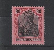 1916/1917 Timbre D'Etapes Allemand Surchargé En Franc N° 35* - Kriegsausgaben