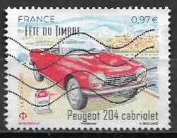 "France 2020 Oblitéré  N° 5390 -  ""  Fête Du Timbre - Peugeot 204 Cabriolet   ""  à  0,97 €  "" - Used Stamps"