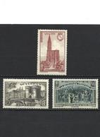 90 LOT De 3 Timbres 1939 YT 443-444-445 Neuf * - Nuevos