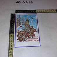 FB8088 MACERATA 1987 TIMBRO ANNULLO 10'' PELLEGRINAGGIO A PIEDI MACERATA LORETO - 1981-90: Storia Postale