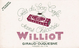"BUVARD - Chicorée ""WILLIOT"" GIRAUD-DUQUESNE - Coffee & Tea"