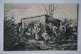 AK: Kasino, Hinter Der Feuerlinie - Guerre 1914-18