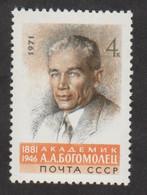 USSR (Russia) - Mi 3883 - Academician A. Bogomolets - 1971 - MNH - Nuevos