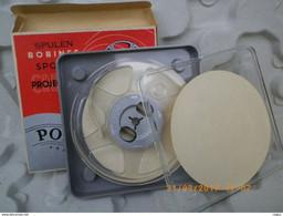 BOBINE PROJECTION CINEMA POSSO 8 Mm - 60 M - NEUVE - ETUI - BOITIER - 35mm -16mm - 9,5+8+S8mm Film Rolls