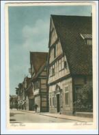 V1761-2812/ Hoya Weser  Deichstraße AK 1945 - Unclassified