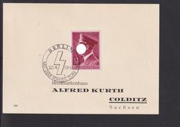 RAL2 /  Deutsches Reich Brief / 813 Y SST Berlin 1942 - Briefe U. Dokumente