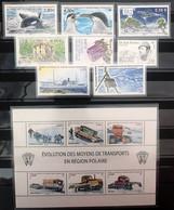 TAAF 2010, Poste N° 552/577 ; Timbres Et Blocs, Luxe, Magnifiques, Prix Très Intéressant - Komplette Jahrgänge