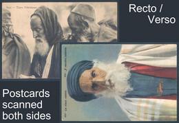 Lot De 2 Cartes Judaica Judaisme Le Vieux Rabin - Jewish